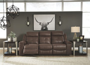 Ashley Jesolo Coffee Reclining Sofa