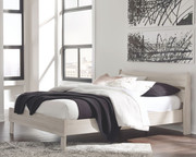 Ashley Socalle Natural Queen Panel Headboard