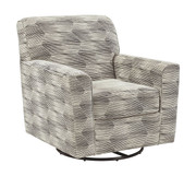 Ashley Callisburg Granite Swivel Glider Accent Chair