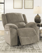 Ashley Draycoll Pewter Power Rocker Recliner
