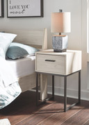 Ashley Socalle Natural One Drawer Night Stand