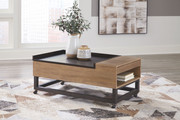 Ashley Fridley Two-tone LIFT TOP COCKTAIL TABLE
