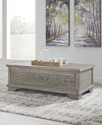 Ashley Marcilyn Brown Lift Top Cocktail Table