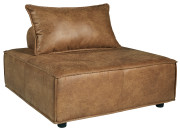 Ashley Bales Brown Accent Chair