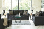 Ashley Wixon Slate Sofa/Couch, Loveseat, Chair & Ottoman
