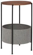 Ashley Brookway Black/Light Gray Accent Table