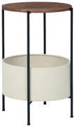 Ashley Brookway Black/Cream Accent Table