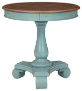 Ashley Mirimyn Teal/Brown Accent Table
