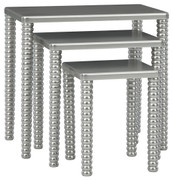 Ashley Caitworth Champagne Accent Table Set (3/CN)
