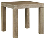Ashley Silo Point Brown Square End Table