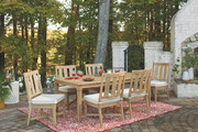 Ashley Clare View Beige 7 Pc. Dining Set with 6 Chairs