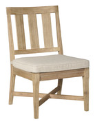Ashley Clare View Beige Chair with Cushion (2/CN)