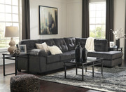 Accrington Granite Left Arm Facing Sofa, Right Arm Facing Corner Chaise Sectional & Laney Table Set