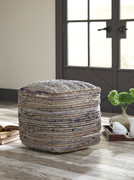 Ashley Absalom Natural Pouf