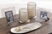 Ashley Dympna Silver Finish Accessory Set