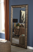 Ashley Dulal Antique Silver Finish Accent Mirror