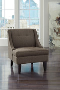 Ashley Clarinda Gray Accent Chair