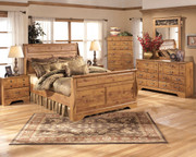 Bittersweet 6 Pc. Dresser, Mirror, Chest & Queen Sleigh Bed