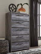 Ashley Baystorm Gray Five Drawer Chest