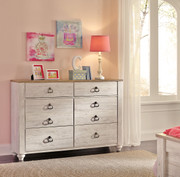Ashley Willowton Whitewash Dresser