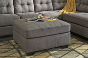 Ashley Maier Charcoal Oversized Accent Ottoman