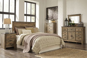 Ashley Trinell 4 Pc. Dresser, Mirror, Chest & Queen Headboard