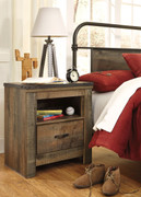 Ashley Trinell Brown One Drawer Night Stand
