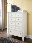 Ashley Prentice White Chest