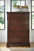 Ashley Porter Rustic Brown Chest