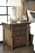 Ashley Lakeleigh Brown Three Drawer Night Stand