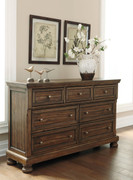 Ashley Flynnter Medium Brown Dresser