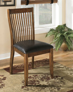 Ashley Stuman Medium Brown Dining Upholstered Side Chair
