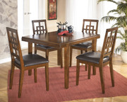 Cimeran Medium Brown Rectangular Dining Room Table Set