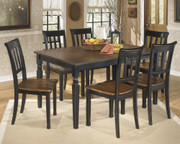 Ashley Owingsville 7 Pc. Rectangular Dining Room Table & 6 Side Chairs