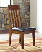 Ashley Ralene Medium Brown Dining Upholstered Side Chair