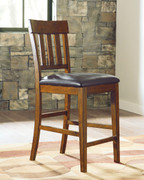 Ashley Ralene Medium Brown Upholstered Barstool