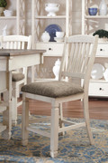 Ashley Bolanburg Two-tone Upholstered Barstool