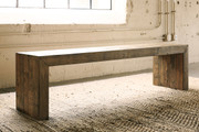 Ashley Sommerford Brown Large Dining Room Bench