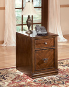 Ashley Hamlyn Medium Brown File Cabinet