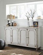 Ashley Mirimyn Antique White Door Accent Cabinet