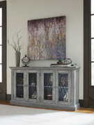 Ashley Mirimyn Antique Gray Door Accent Cabinet