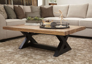 Ashley Wesling Light Brown Rectangular Cocktail Table