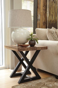 Ashley Wesling Light Brown Square End Table