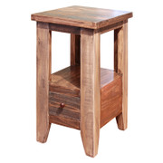 International Furniture Direct Antique Collection Chairside Table