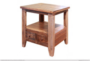 International Furniture Direct Antique Collection End Table