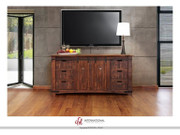 "International Furniture Direct Pueblo Collection 50"" TV Stand"