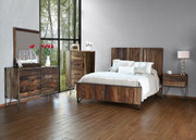International Furniture Direct Taos Queen Bedroom Collection