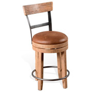 Sunny Designs Metro Flex Rustic Swivel Stool