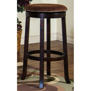 "Sunny Designs 30""H Santa Fe Swivel Stool w/ Cushion Seat"
