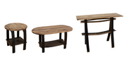 Burnt Hickory Occasional Tables